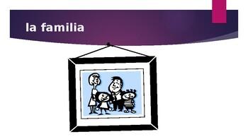Familia (Family in Spanish) power point
