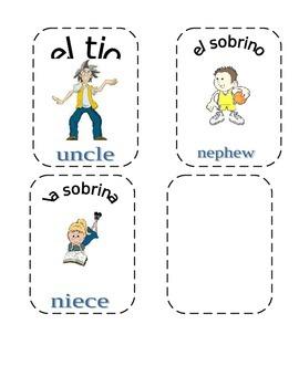 Familia Picture Cards
