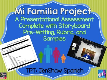 Familia Project Assessment Family Spanish I