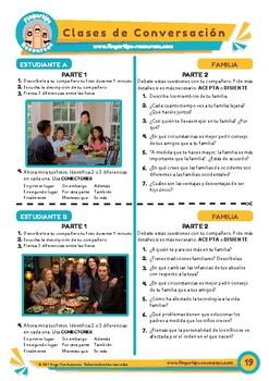 Familia - Spanish Speaking Activity