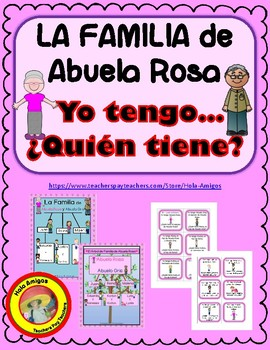 Familia - Yo tengo... ¿Quién tiene? Spanish game - I have...Who has?