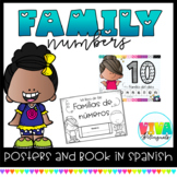 Familia de Números / Number family in Spanish (Melonheadz)