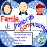 Familia de Palabras Compuestas Compound Words Family games