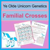 Familial Cross (Dihybrid Cross / F1 Cross) Mendelian Genetics Coloring Exercise