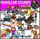 Familiar Sounds Clip Art Set {Educlips Clipart}
