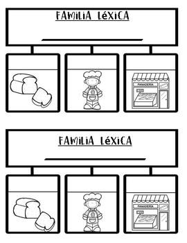 Familias Lexicas By Bilingual Printable Resources Tpt