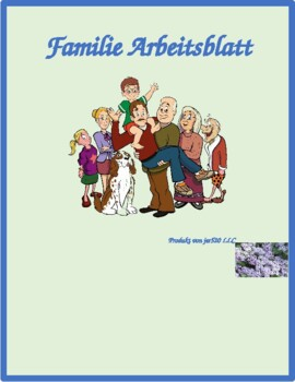 Familie (Family in German) Worksheet