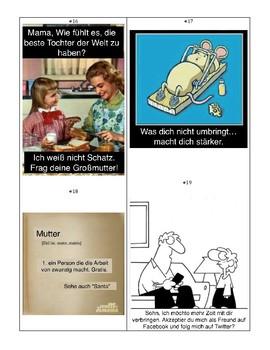 Familie_German Memes Activity!
