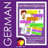 Familienmitglieder auf Deutsch - German family members