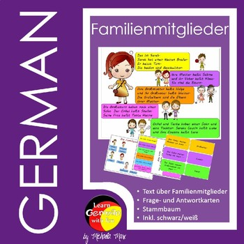 Familienmitglieder auf Deutsch - German family members by Learn ...