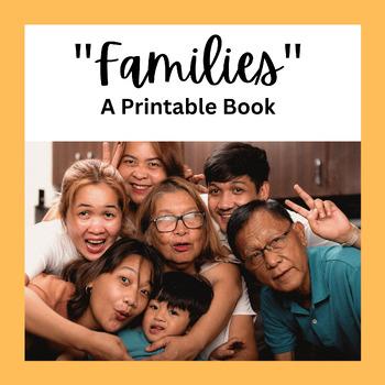"""Families"" - A Printable Book"