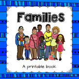 """Families"" - A Printable Book"