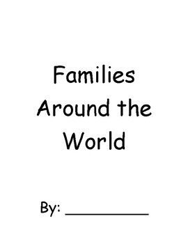 Families Around the World Book
