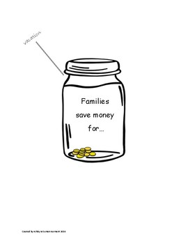 Families Save Money Word Map