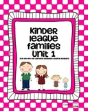 Families Unit - For use with the California Treasures Lang