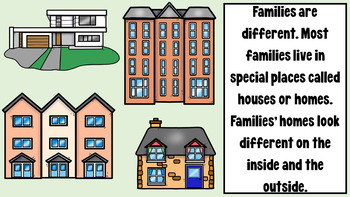 Families and Homes PowerPoint | Family Powerpoint | Homes Powerpoint