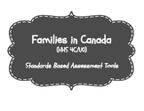 Families in Canada (HHS 4C/UO0) Standards Based Assessment Tools {Ontario}