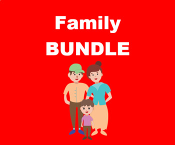 Famille (Family in French) Bundle