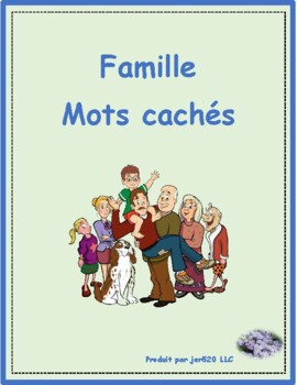 Famille (Family in French) Wordsearch
