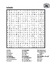 Famille (Family in French) Wordsearch for Differentiated Learning