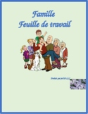 Famille (Family in French) Worksheet