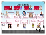 Famille (Family in French) listening activity
