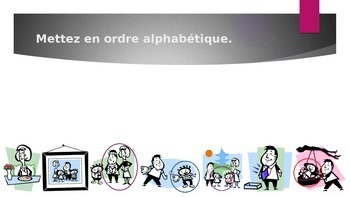 Famille (Family in French) power point