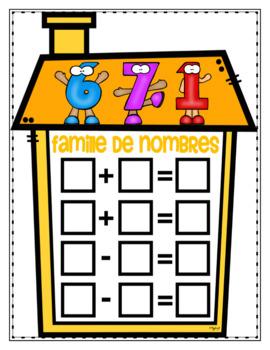 Familles de nombres