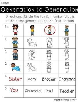Social Studies Family Unit