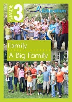 Family - A Big Family - Grade 3