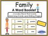 Family: A Word Booklet