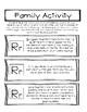 Family Involvement Activities for Each Letter-Homework