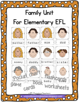 Family Activities for Elementary ELL
