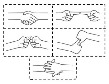 Family Activity - Special Handshake (Goodbye Ritual for Children)
