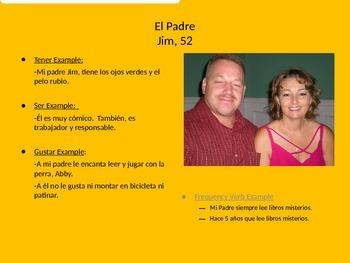 Family Album Project Sample Slides