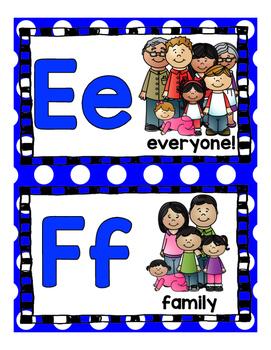 Family Alphabet!  Family words from A-Z!