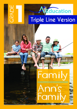 Family - Ann's Family -Grade 1 (with 'Triple-Track Writing