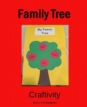 Family Apple Tree Craft