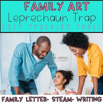 Family Art Project Leprechaun Trap STEM Challenge