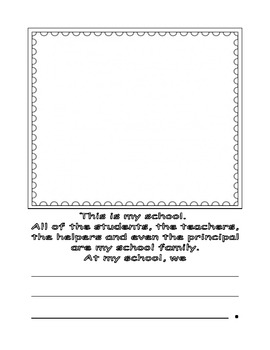 Family Booklet to Introduce School Rules and Personnel