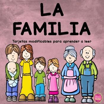 Family Cards in Spanish
