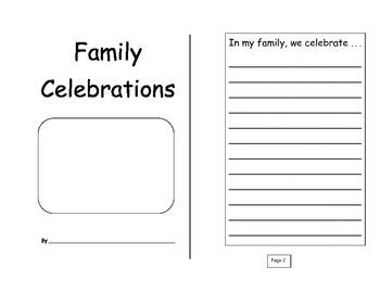 Family Celebration Journal