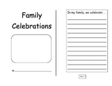 Family Celebration Journal