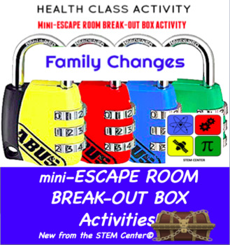 Family Changes Escape Room - Break Out Box