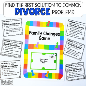 Family Changes Game, Divorce, Changing Families; SEL
