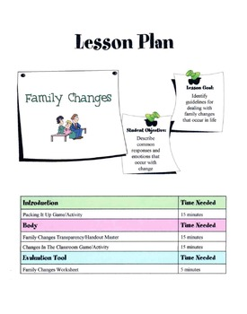 Family Changes Lesson