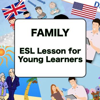 Family - Children's English PPT Lesson (ESL Online)