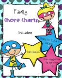 Chore Charts for Adaptive Skills