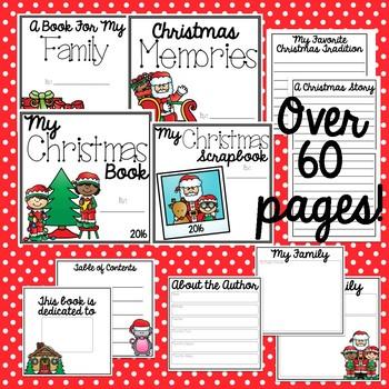 Family Christmas Gift Books EDITABLE! [Target Dollar Spot]