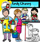 Family Cleaning clip art